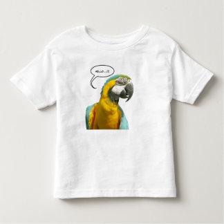 Funny Talking Parrot Toddler T-shirt