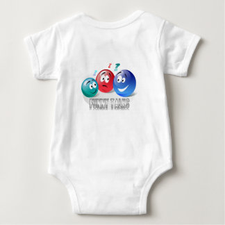Funny Talks Smileys design for Baby Tshirt