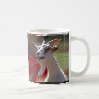Funny Tallking Goat Photograph Coffee Mug