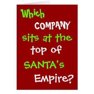 Funny Tax Accountant Lawyer Christmas Card Joke
