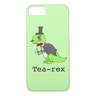 Funny 'Tea-rex' Dinosaur iPhone 8/7 Case