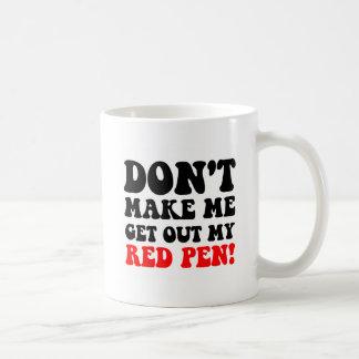 Funny teacher basic white mug