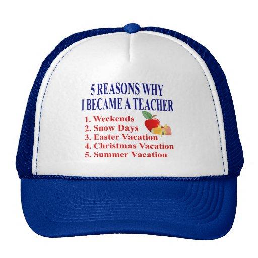 Funny Teacher Gift Hats