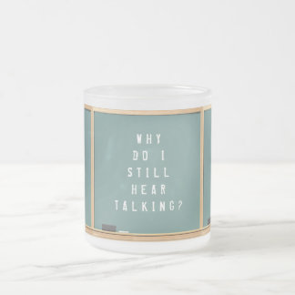 funny teacher gift ideas frosted glass mug