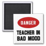 Funny Teacher in Bad Mood
