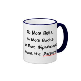 Funny Teacher Retirement Gifts Ringer Mug