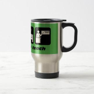 Funny teachers stainless steel travel mug