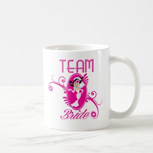 Funny Team Bride Mug