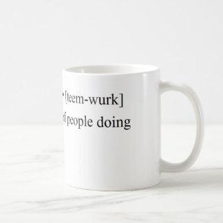 Funny Teamwork Products Basic White Mug
