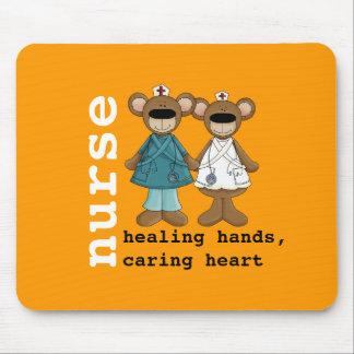 Funny Teddy Bears Nurse Gift Mousepad