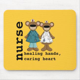 Funny Teddy Bears Nurse Gift Mousepads