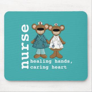 Funny Teddy Bears Nurses Gift Mousepads