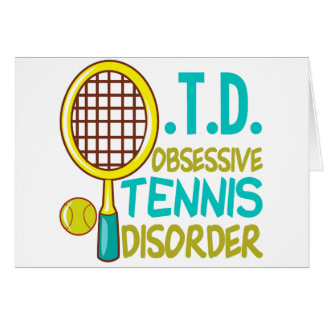 Funny Tennis Card