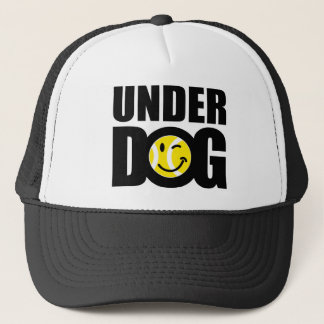 Funny tennis gift with humorous slogan saying trucker hat