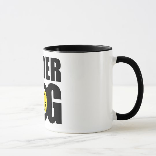 Funny tennis gift with humourous slogan saying mug