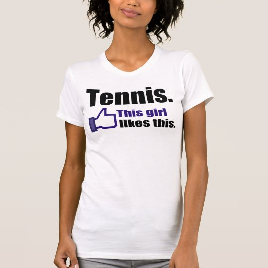 Funny Tennis Outfit T-Shirt