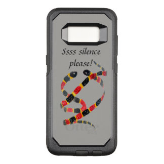 Funny Text Coral Snake Art OtterBox Commuter Samsung Galaxy S8 Case