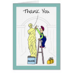 Funny Thank You Card:  Venus Demilo