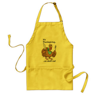 Funny Thanksgiving apron