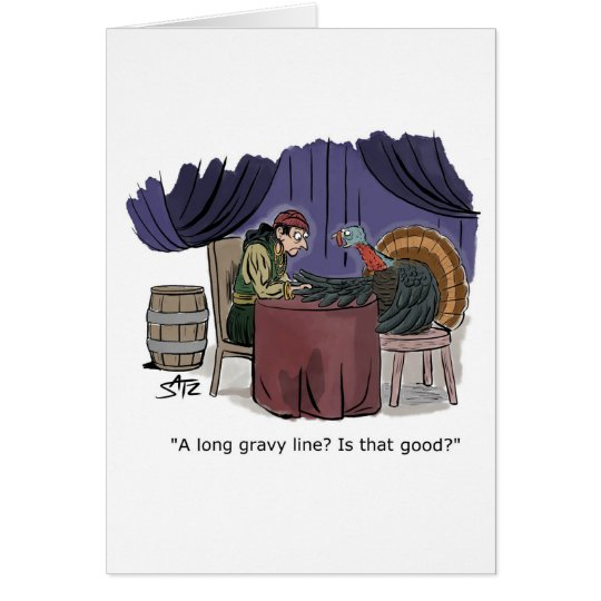 Funny Thanksgiving card from Crowden Satz