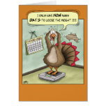 Funny Thanksgiving Cards: Stuffed