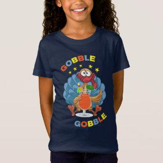 Funny Thanksgiving Day Drunk Gobble Turkey T-Shirt