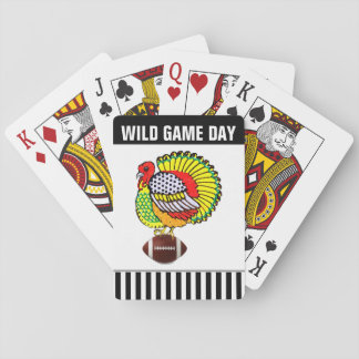 funny Thanksgiving Playing Cards