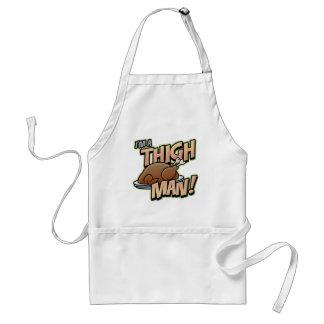 Funny Thanksgiving Thigh Man T-Shirts Standard Apron