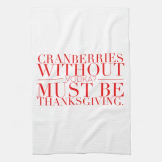 Funny Thanksgiving Towel