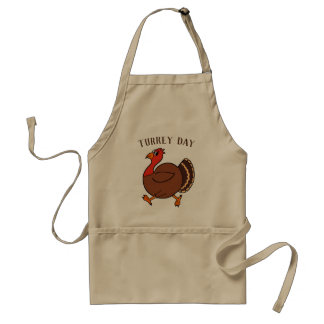 Funny Thanksgiving Turkey Day Apron