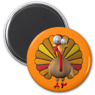 Funny Thanksgiving Turkey Magnet