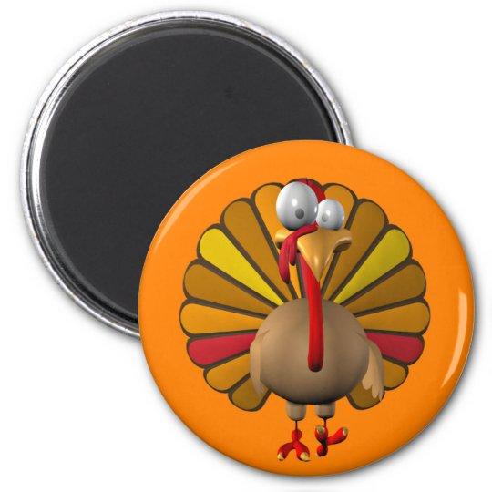 Funny Thanksgiving Turkey Magnet