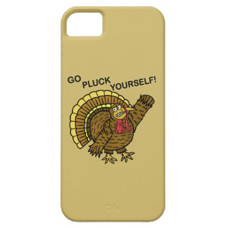 Funny Thanksgiving Turkey Pun Barely There iPhone 5 Case