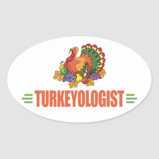 Funny Thanksgiving Turkey Stickers