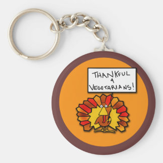 Funny Thanksgiving Turkey T-shirts and Apparel Key Ring