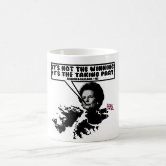 Funny Thatcher Falklands Coffee Mug