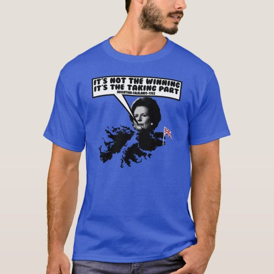 Funny Thatcher Falklands T-Shirt
