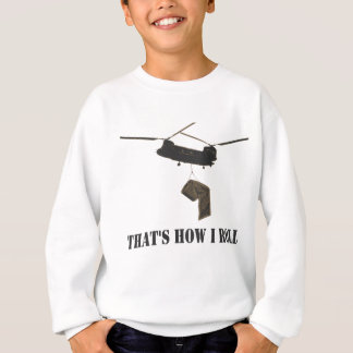 Funny that's how i roll sweatshirt