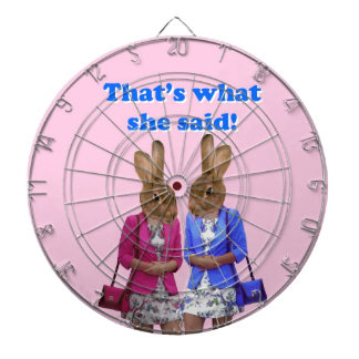 Funny that's what she said text dartboard
