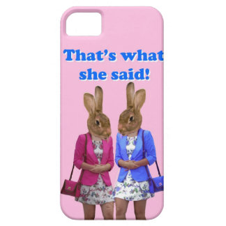 Funny that's what she said text iPhone 5 covers