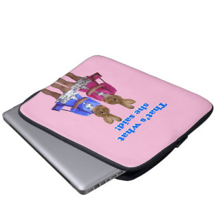 Funny that's what she said text laptop sleeve
