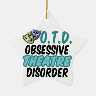 Funny Theatre Christmas Ornament
