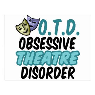 Funny Theatre Postcard