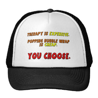 Funny Therapy T-shirts Gifts Cap
