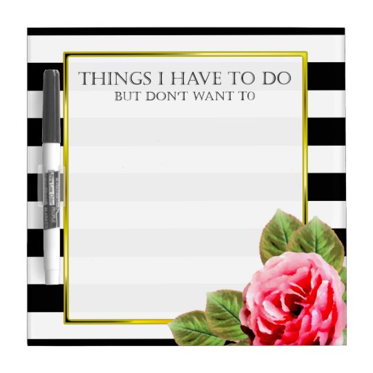 Funny Things I Don't Want To Do For