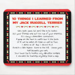 Funny Things I Learned From Jack Russell Terrier Mousemat