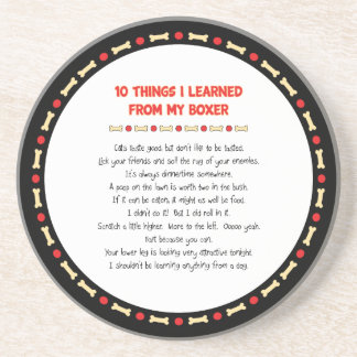 Funny Things I Learned From My Boxer Coaster