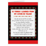 Funny Things I Learned From My Coton de Tulear Card