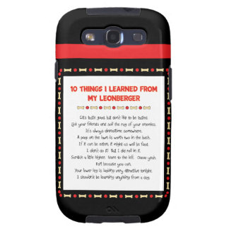 Funny Things I Learned From My Leonberger Galaxy S3 Covers