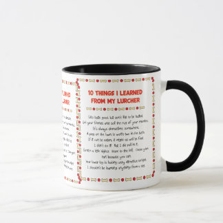 Funny Things I Learned From My Lurcher Mug